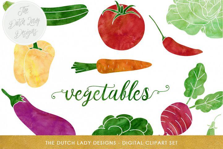 Vegetable & Produce Clipart Set