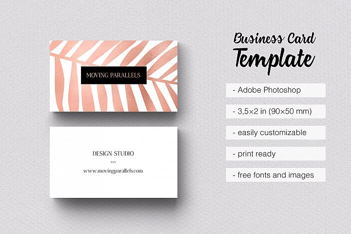 Business cards design bundles rose gold foil marble business card colourmoves