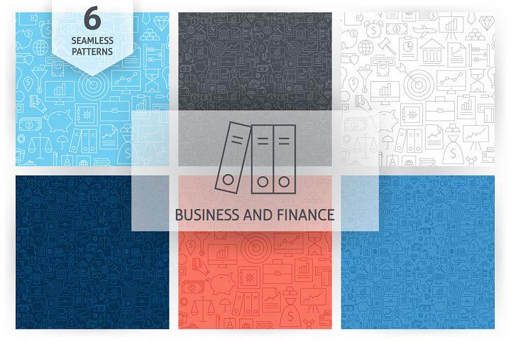 Business Finance Bank Line Patterns
