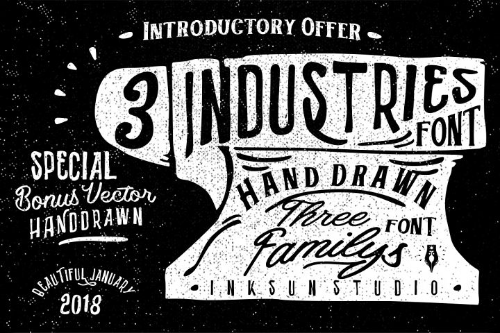 3 Font Industries
