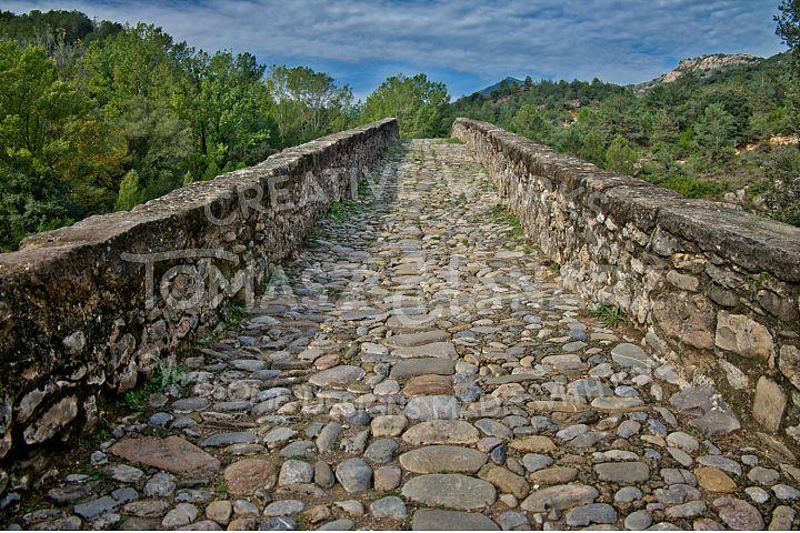 Ancient Stone Roman Bridge
