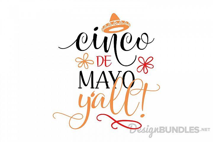 Cinco De Mayo Yall