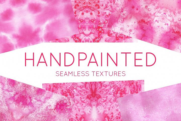 Hand Painted Pink Watercolor Texture