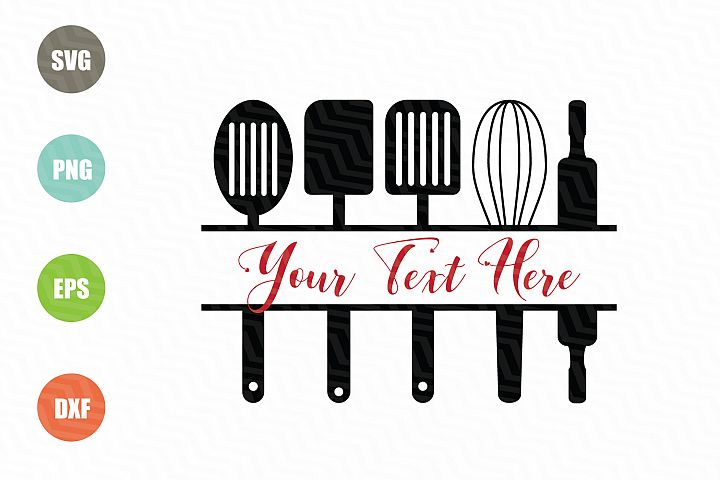 Kitchen Monogram SVG