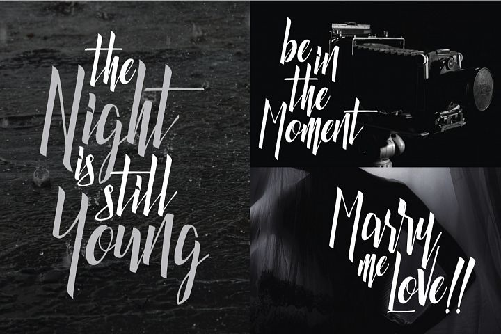 Luxurious Line Typeface - Free Font of The Week Design 4