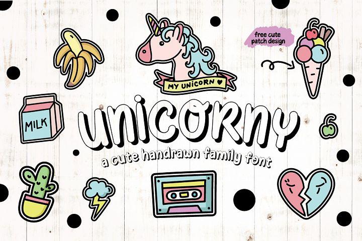 Unicorny Typeface