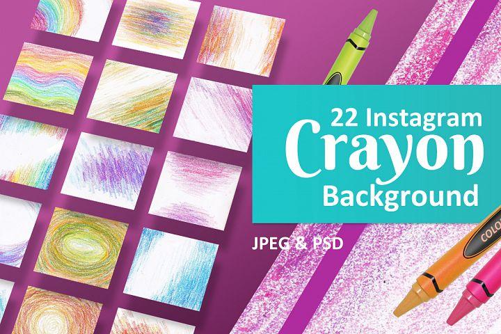 22 Instagram Crayon Backgrounds