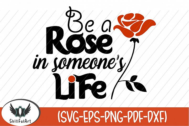 rose, be a rose, quote