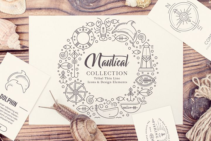 Nautical Collection  - Free Design of The Week