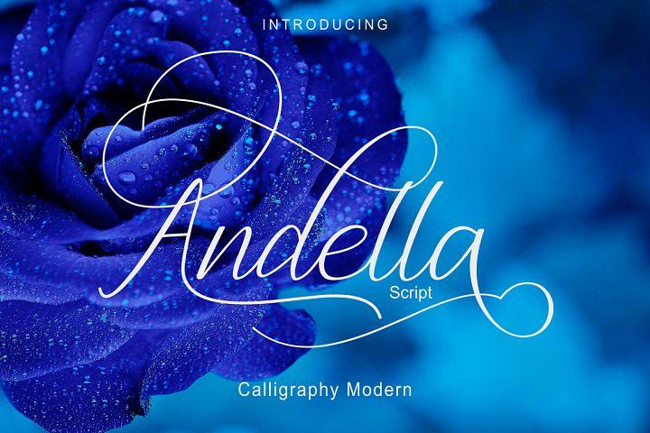 Andella Script|Off 30%