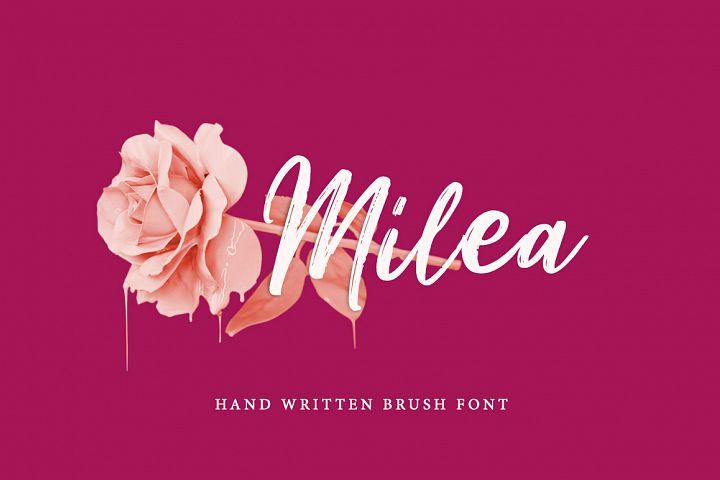 Milea - Hand Brush Script