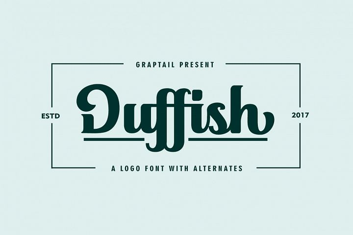 Duffish - Logo Font