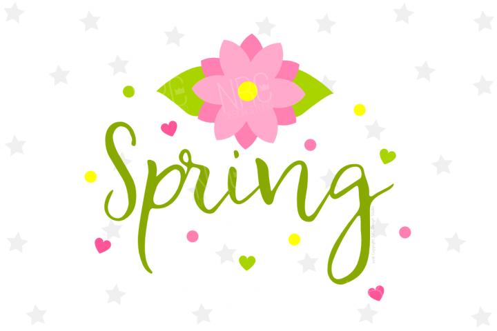 Spring SVG File