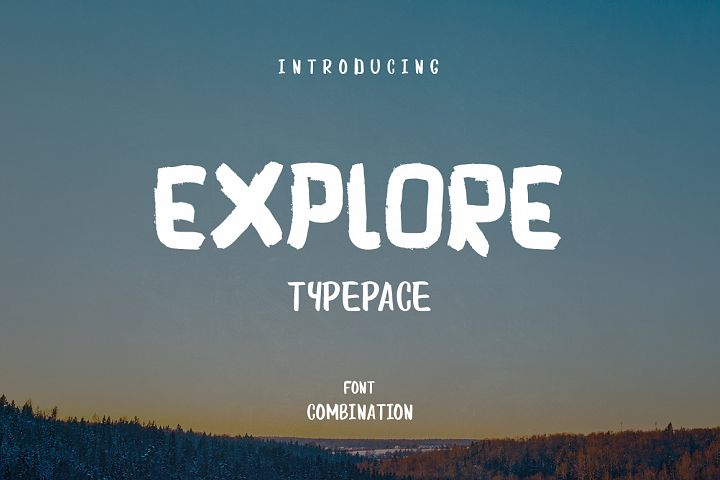 Explore and Typepace