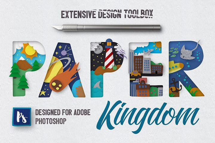 Paper Kingdom For Photoshop
