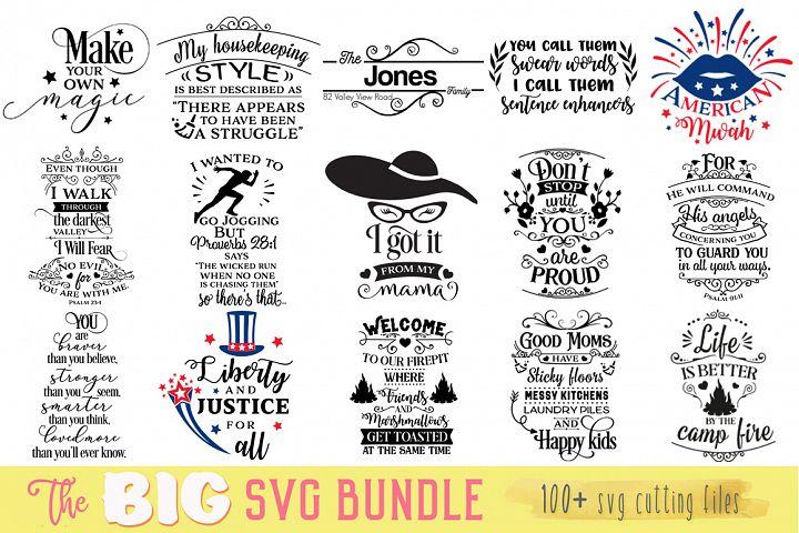 The Big SVG Cut Files Bundle - Limited Promotion!