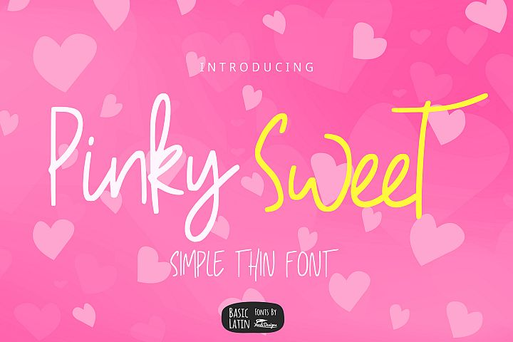 Pinky Sweet Cute Font