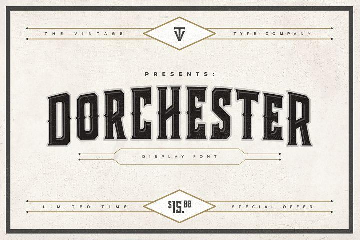 Dorchester Display Font