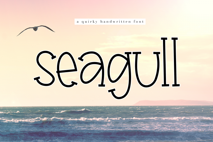 Seagull - A Fun Handwritten Font - Free Font of The Week
