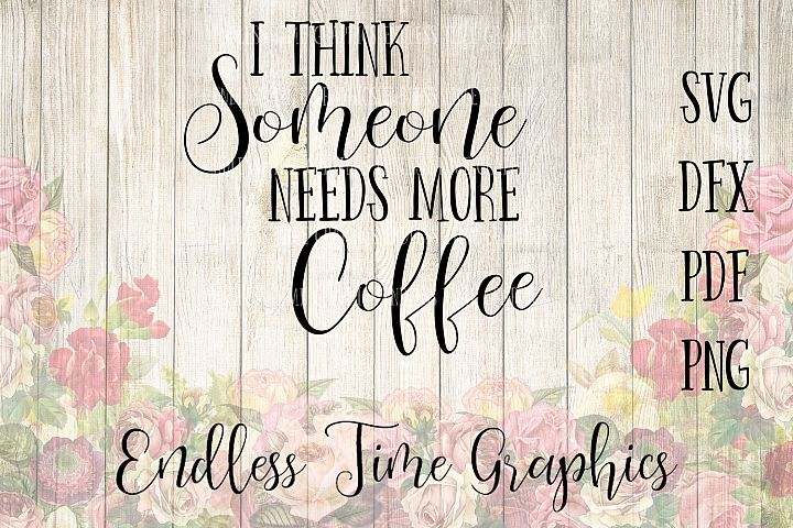 Needs More Coffee SVG File. More Coffee DXF. Coffee Cut Files. Digital Decal for Coffee Mug. Coffee Vinyl SVG. Instant Digital Download
