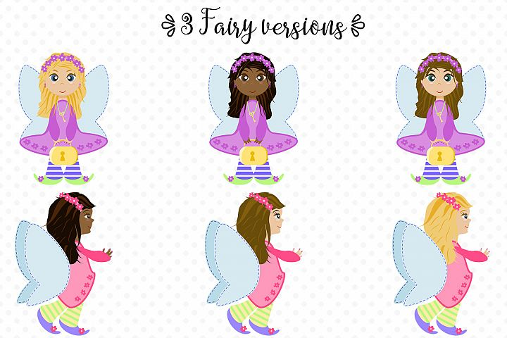Fairy Secrets - Graphics and Patterns example 2