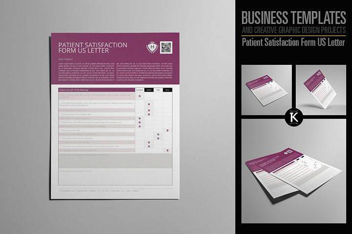 Commercial Business Form Template Products  Design Bundles