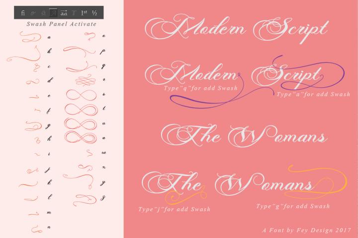 Photograph - Script Wedding Font - Free Font of The Week Design 3