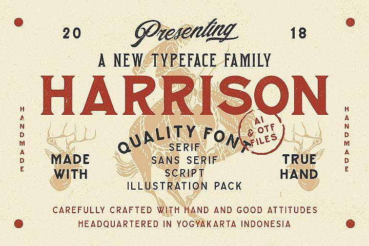 Harrison Font Family