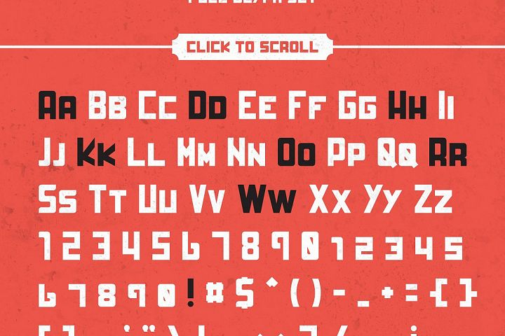 HardWork - Display Font With Styles - Free Font of The Week Design 11
