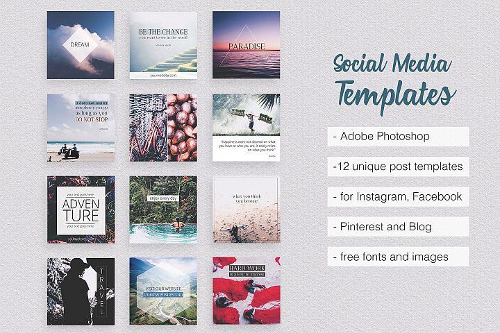 Asian Dream Social Media Pack Part 1