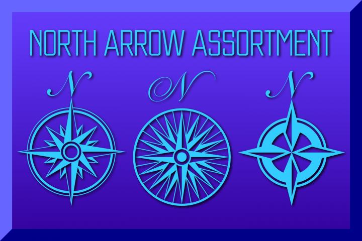 North Arrow Assortment