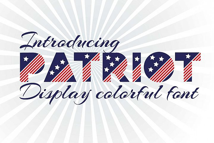 Patriot font family