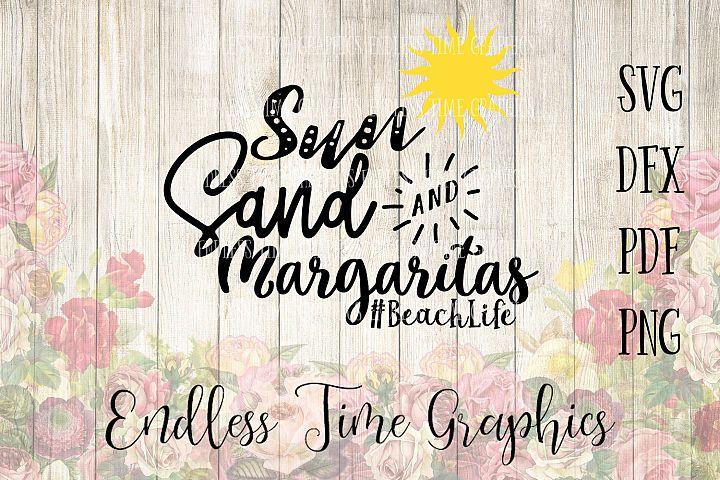 Beach Life SVG File. Summer SVG. Beach Svg. Cut File #BeachLife. Sun, Sand, Margarita Digital Decal. Vinyl Decal. DIY Vinyl. Beach Tank