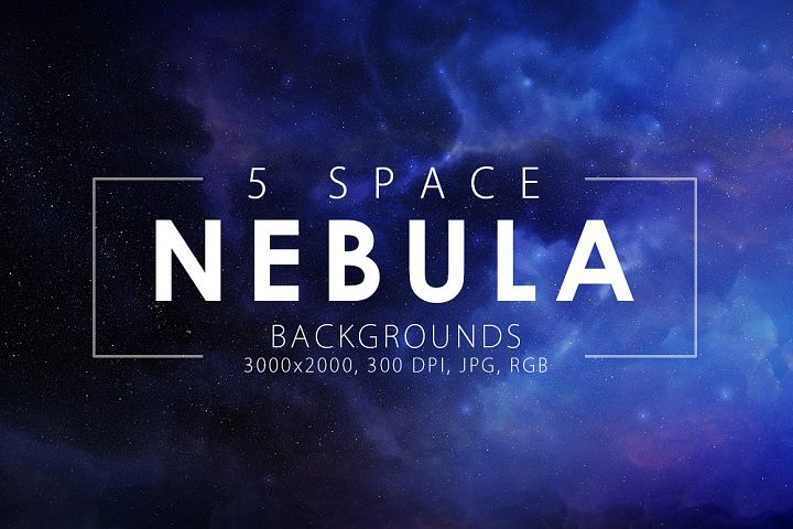5 Realistic Nebula Backgrounds