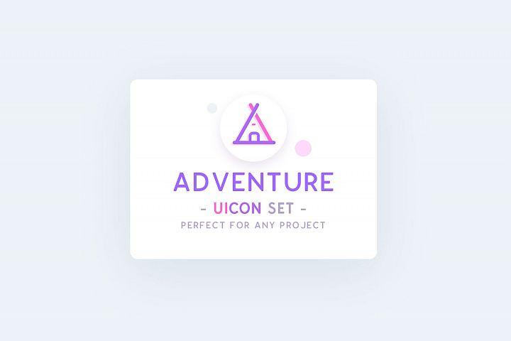 UICON - Adventure Icons Set
