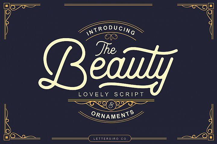 Beauty Script & Ornaments