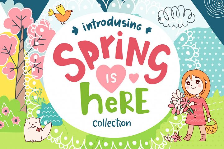 Spring is Here! Graphics & Patterns