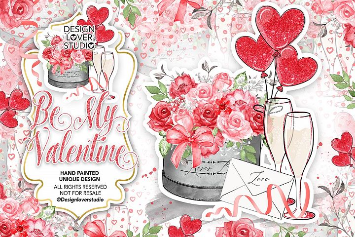 Be My Valentine design