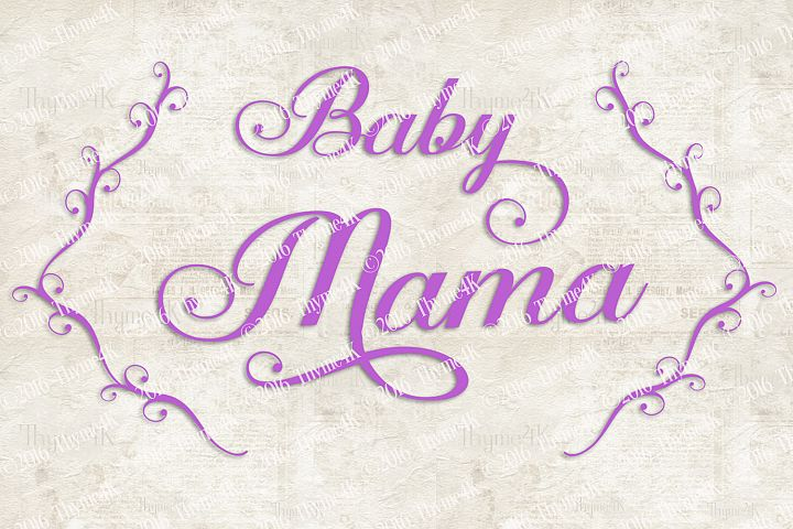 Baby Mama Digital Design