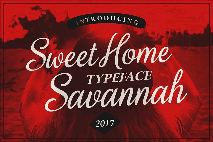 Sweet Home Savannah Font Duo - Free Font of The Week Font