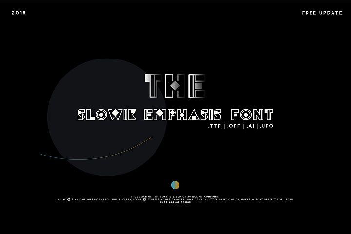 Slowik Emphasis-Regular Font
