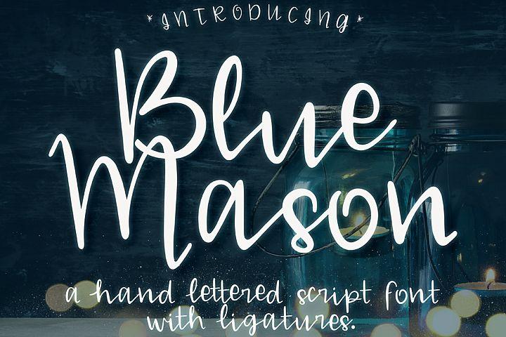 Blue Mason Font