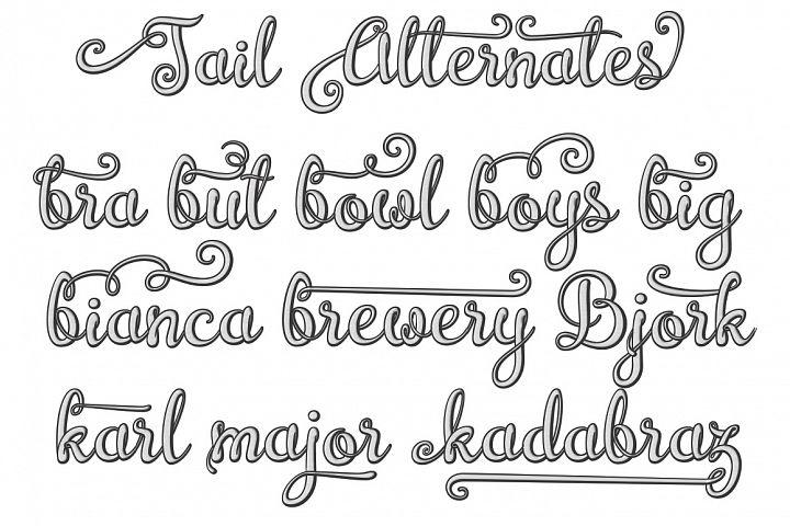 Brazilian Script (LAYERED FONT) - Free Font of The Week Design 2