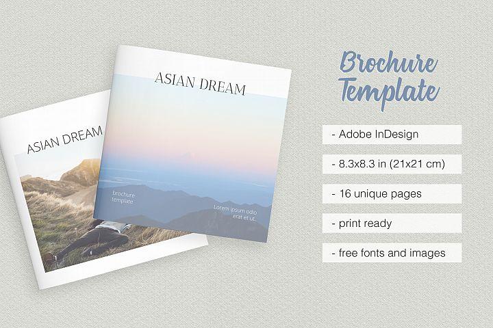 Asian Dream Brochure Template