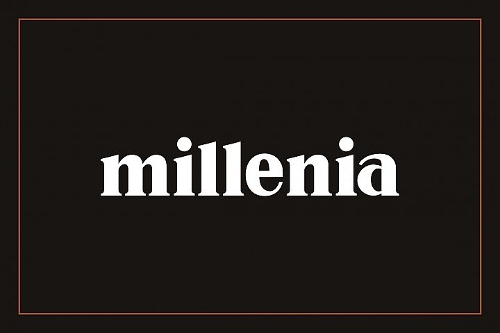 Millenia - Serif Font - Free Font of The Week