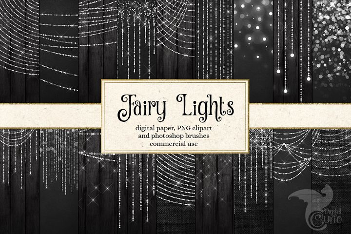 Fairy Lights Graphics Pack