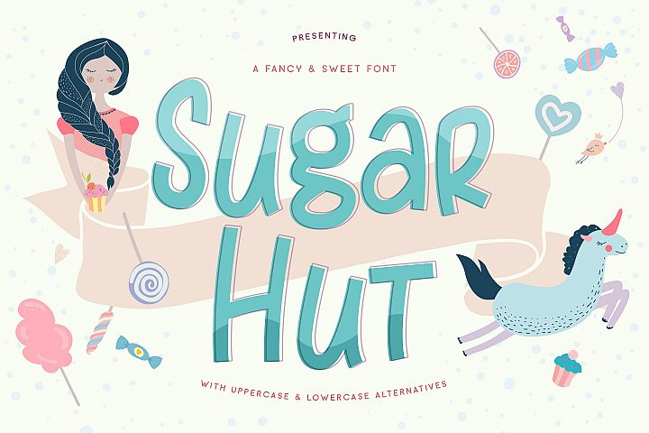 Sugar Hut - Free Font of The Week