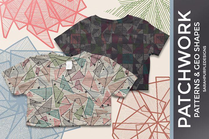 Geometric Patterns & Flower Elements
