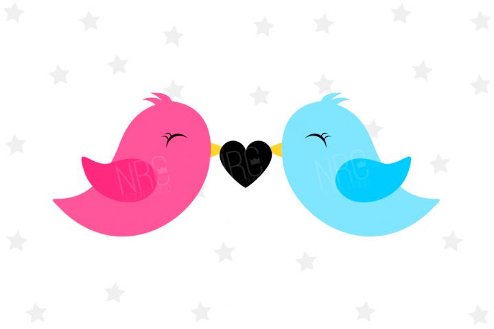 Love Birds SVG File