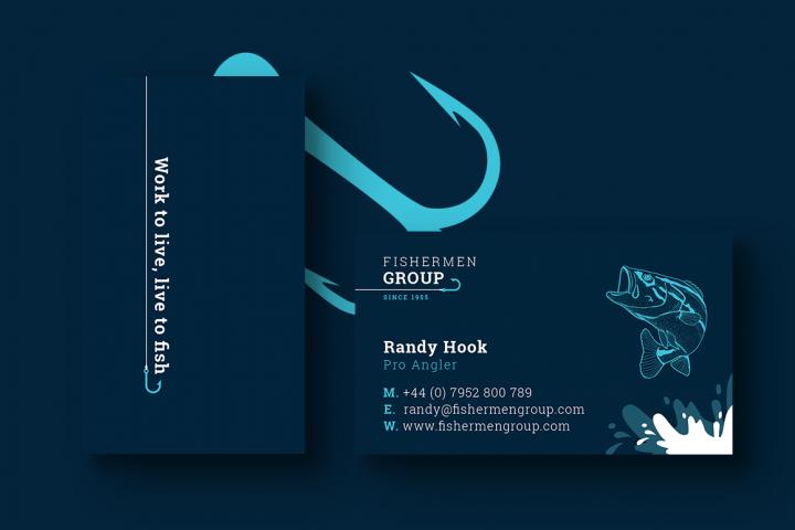 Fishermen Business Card